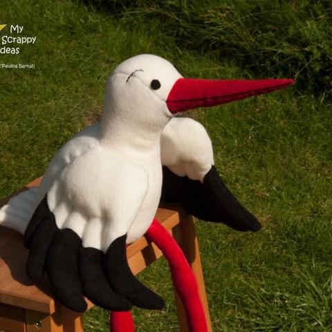 Stately White Stork