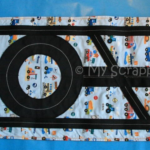 Roll-up Car Play Mat