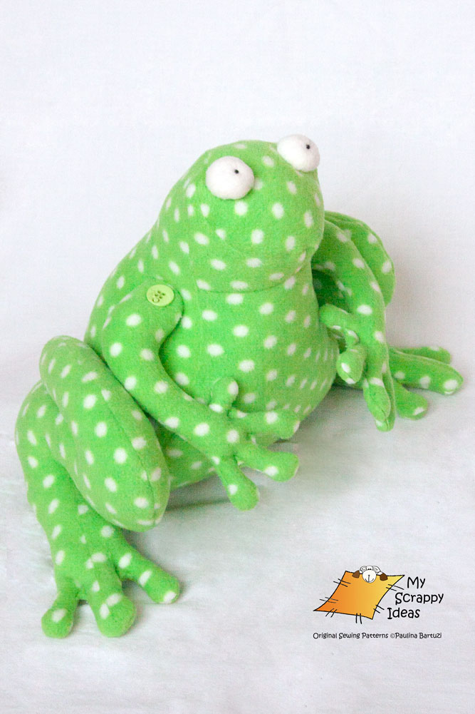 Ribbit the Fearless Frog